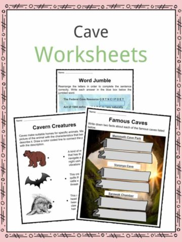Cave Worksheets