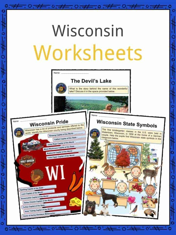 Wisconsin Worksheets