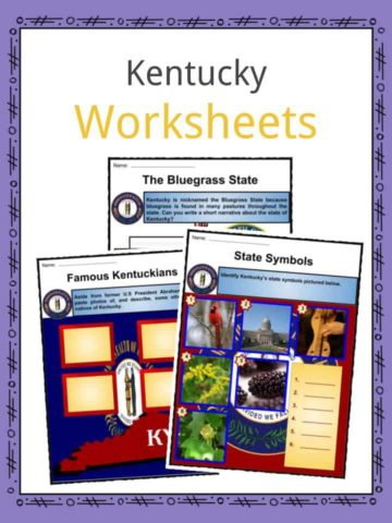 Kentucky Worksheets