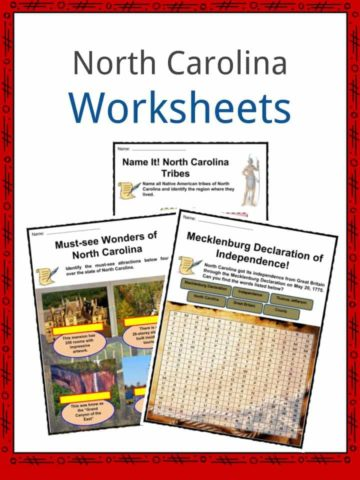 North Carolina Worksheets