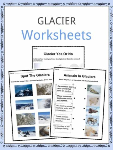 Glacier Worksheets