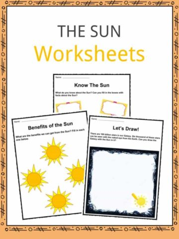 The Sun Worksheets