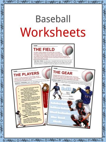 Baseball Worksheets