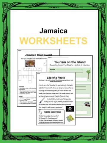 Jamaica Worksheets