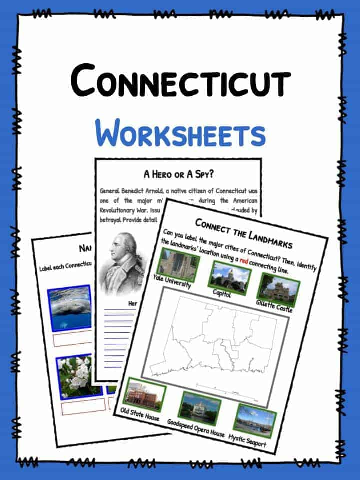 Connecticut Worksheets