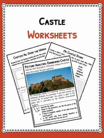 castles-worksheets