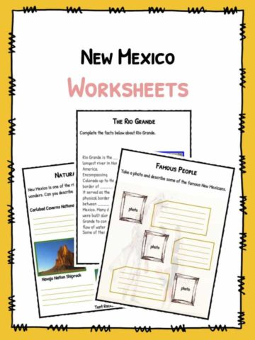 New Mexico Worksheets