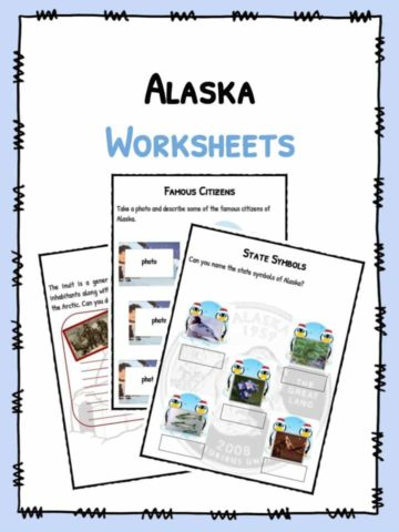 Alaska Worksheets