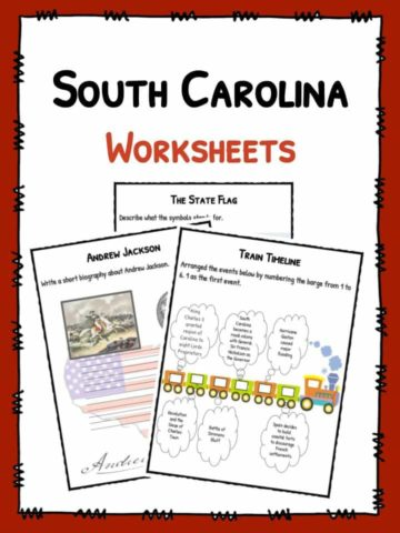 South Carolina Worksheets
