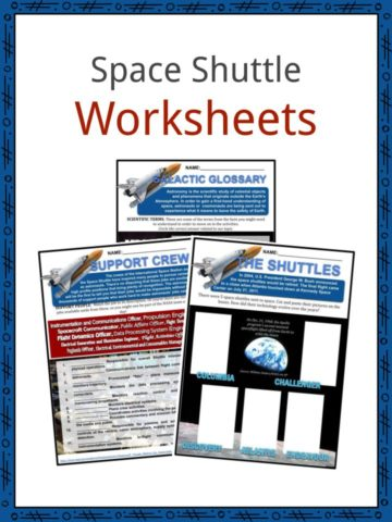 Space Shuttle Worksheets