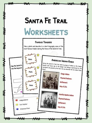 Santa Fe Worksheets