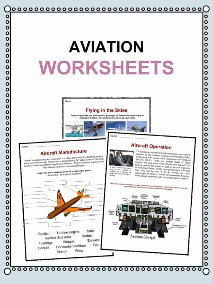 Aviation Worksheets