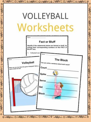 Volleyball Worksheets
