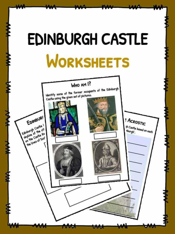 Edinburgh Castle Worksheets