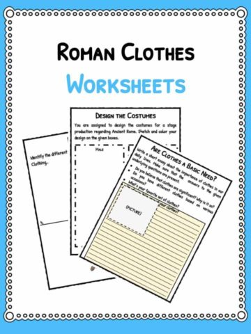 roman-clothes-worksheets