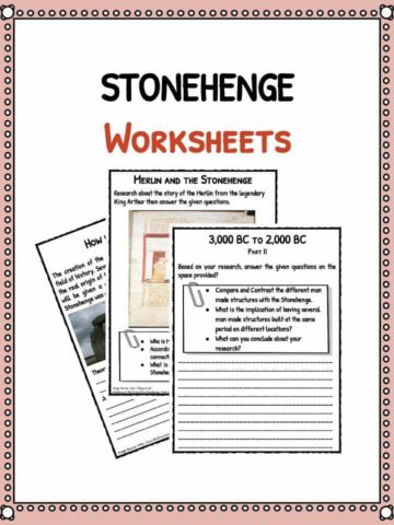 stonehenge-worksheets