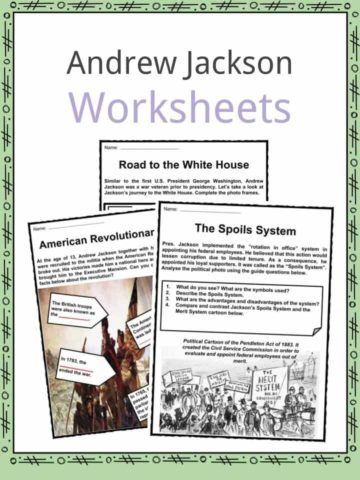 Andrew Jackson Worksheets
