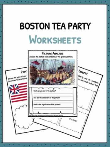 Boston Tea Party Worksheets
