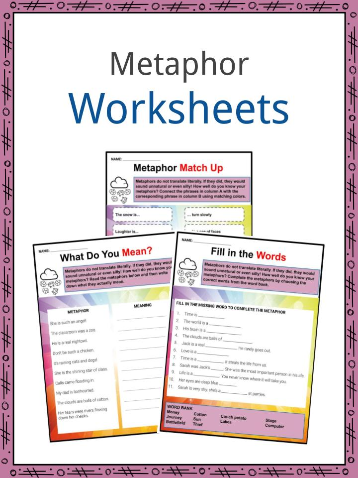 Metaphor Examples Definition And
