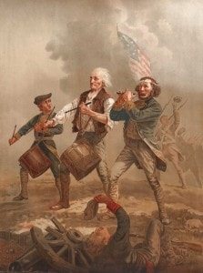 The Spirit of '76, originally entitled Yankee Doodle, is a Patriotic painting by Archibald Willard