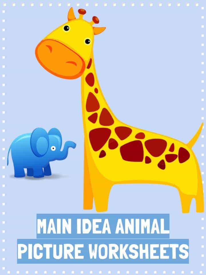 Main Idea (Picture) Worksheets