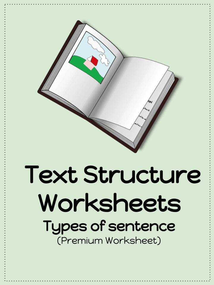 Text structure worksheets