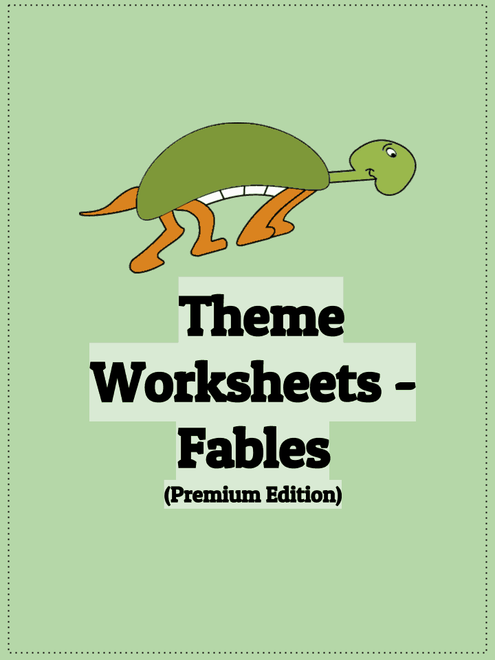 Theme Worksheets - fables