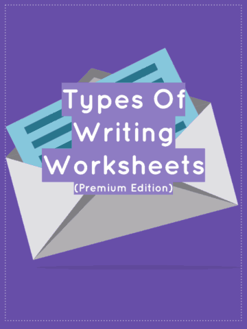 Types of Writing Worksheets