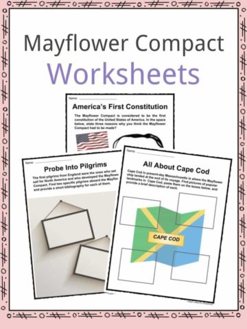Mayflower Compact Worksheets