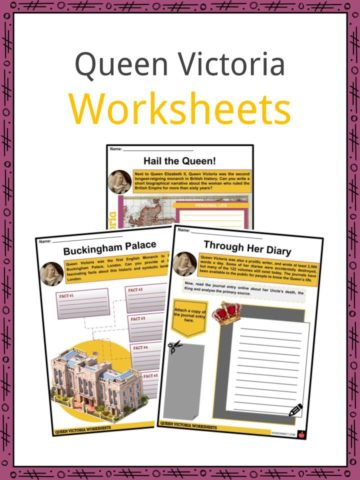 Queen Victoria Worksheets