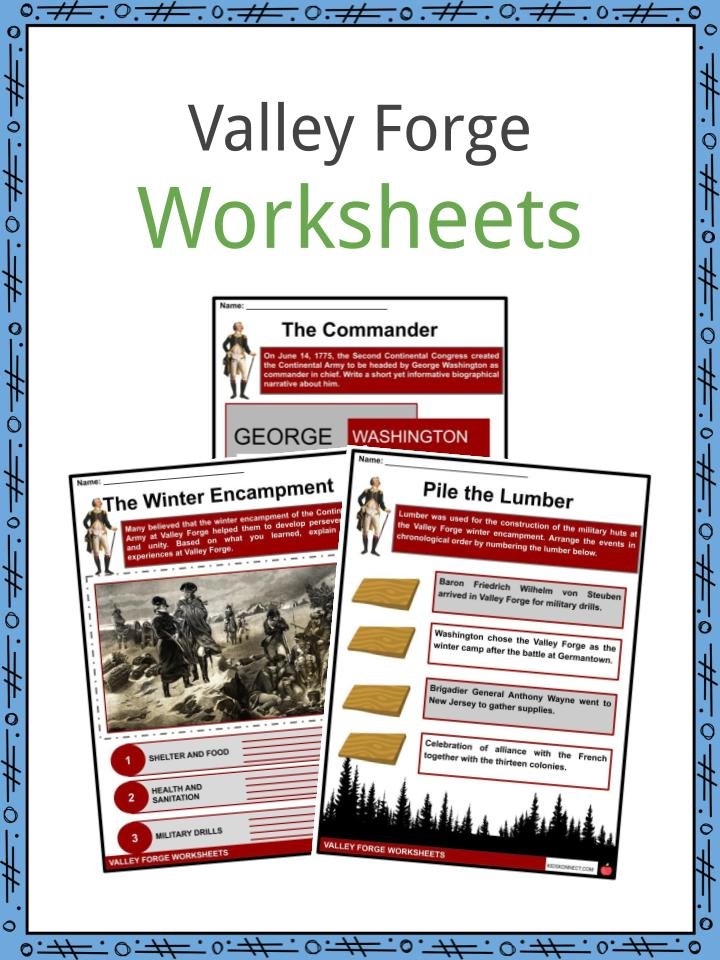 Valley Forge Worksheets