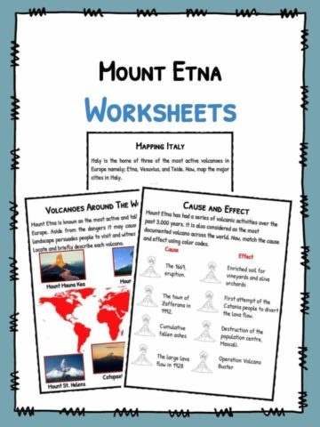 Mount Etna Facts & Worksheets