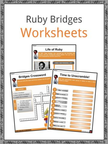Ruby Bridges Worksheets