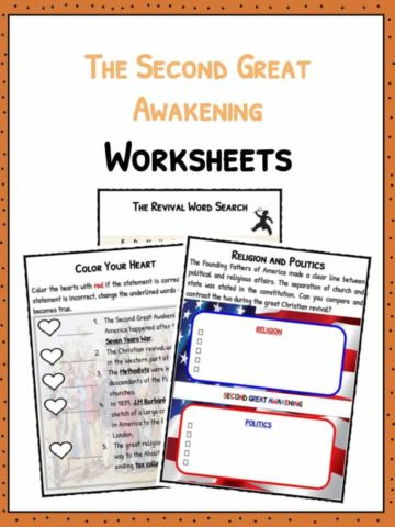 The Second Great Awakening Worksheets