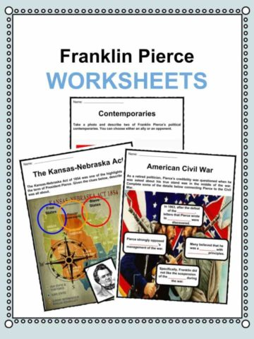 Franklin Pierce Worksheets