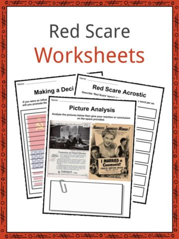 Red Scare Worksheets