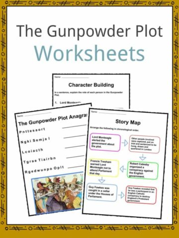 The Gunpowder Plot Worksheets