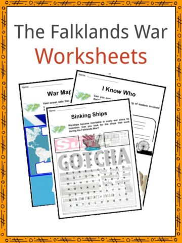 The Falklands War Worksheets