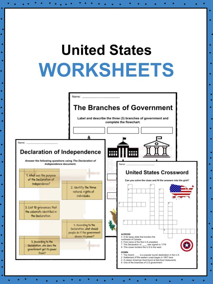 United States Worksheets