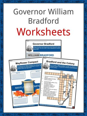 Governor William Bradford Worksheets