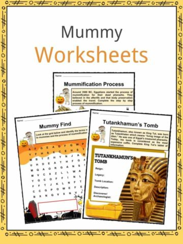 Mummy Worksheets