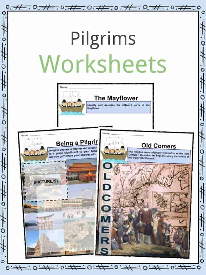 Pilgrim Worksheets