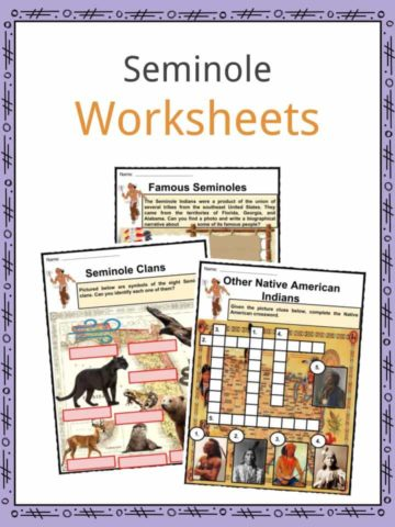 Seminole Worksheets