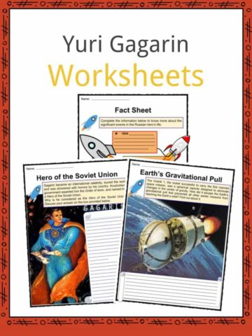 Yuri Gagarin Worksheets