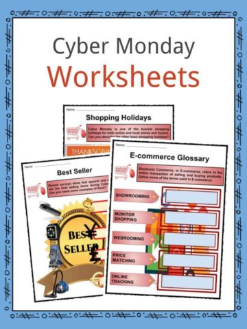 Cyber Monday Worksheets