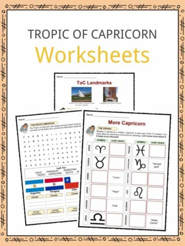 Tropic Of Capricorn Worksheets