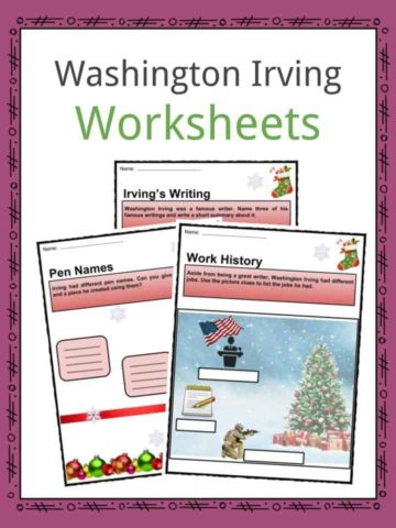 Washington Irving Worksheets