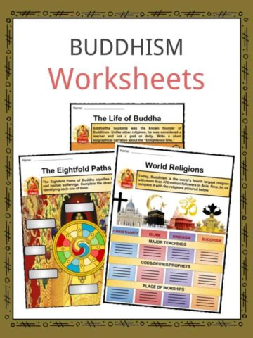 Buddhism Worksheets