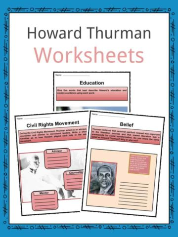 Howard Thurman Worksheets