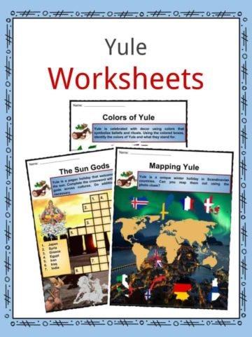 Yule Worksheets